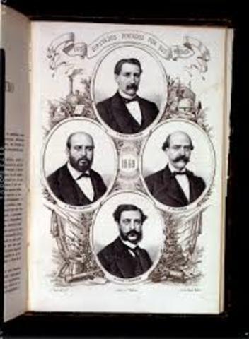 CORTES CONSTITUYENTES POR SUFRAGIO UNIVERSAL (1869).