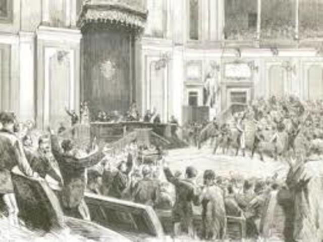 PROCLAMACIÓN DE LA REPÚBLICA (1873).
