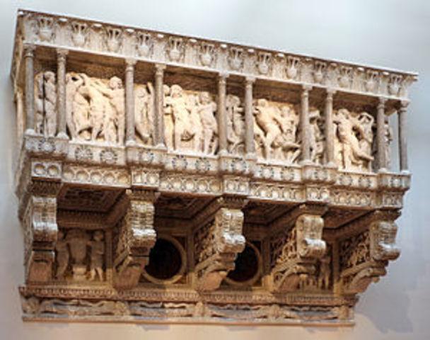 DONATELLO inizia la Cantoria per il Duomo