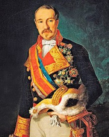 O´Donell sustituye a Espartero como Jefe de Gobierno.