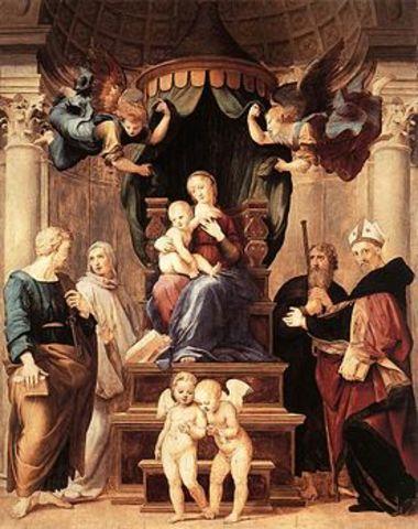 RAFFAELLO - Madonna del Baldacchino