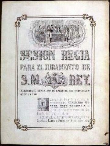 Nueva constitución (democrática).