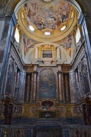 Cappella Maggiore S.M.Maddalena dei Pazzi - Inizio