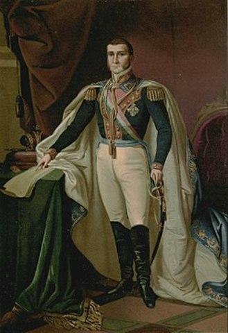 Agustín de Iturbide combate a Guerrero
