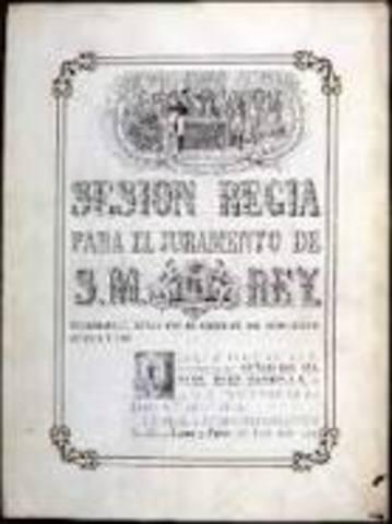 CONSTITUCIÓN DE 1869: