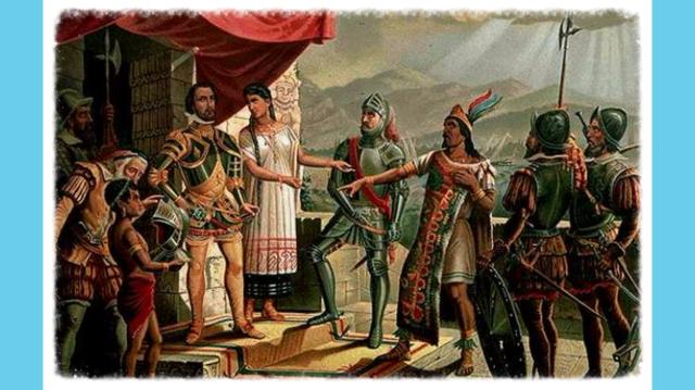 Llegada de Hernán Cortés a Tenochtitlán