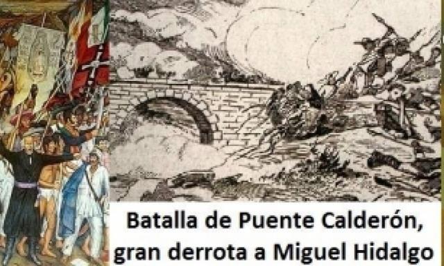 Derrota de los insurgentes en el puente de Calderón