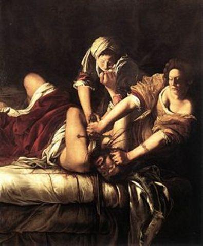 ARTEMISIA GENTILESCHI - Giuditta e Oloferne