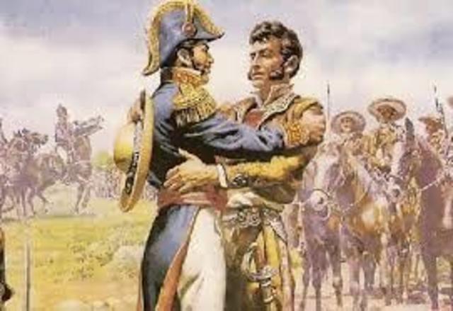 Iturbide y Guerrero firman el plan de iguala o de las tres garantías