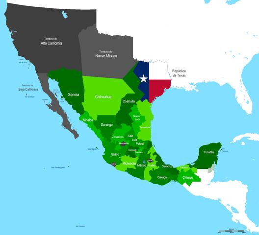 Texas declara su separación de México