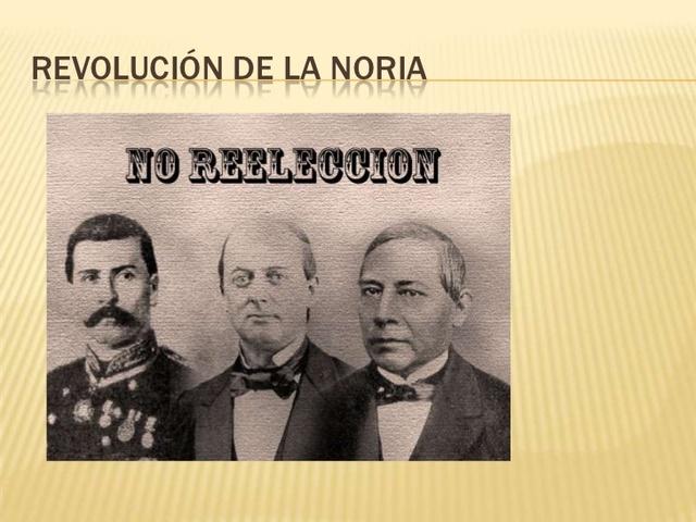 Porfirio Díaz proclama el plan de la Noria