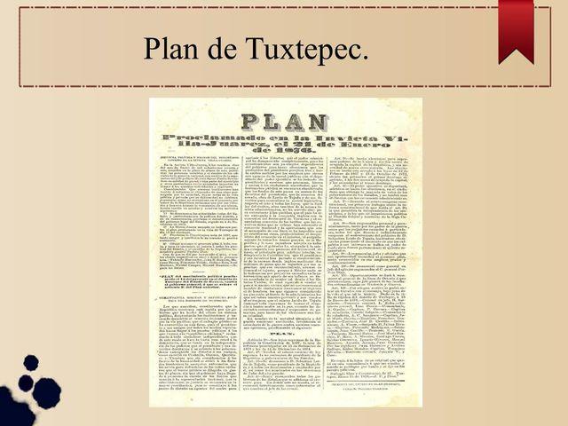 Díaz proclama el plan de Tuxtepec