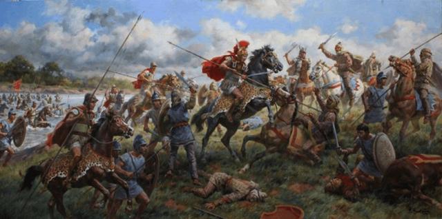 La batalla del Gránico