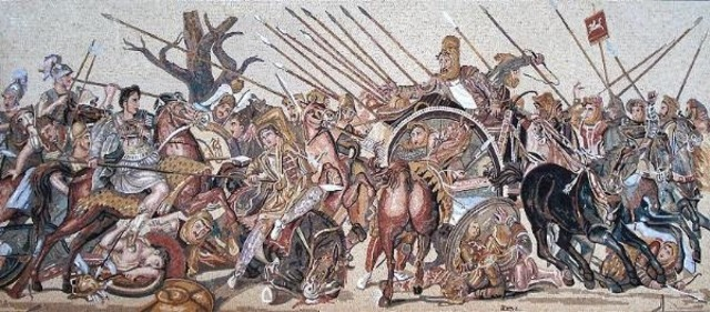 La batalla de Issos
