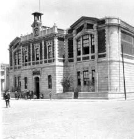 Se crea la Secretaría del Despacho de Instrucción Pública y Bellas Artes