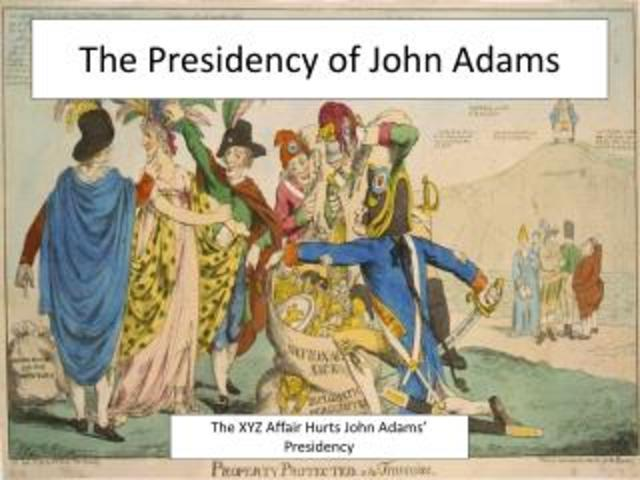 Adam's Presidency