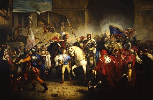 Entrata di Carlo VIII a FIRENZE