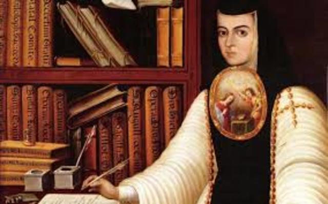 """Sor Juana Inés de la Cruz es galardonada por su libro """"Primero sueño"""""""