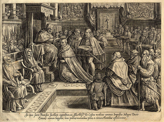Cosimo I primo Granduca di Toscana