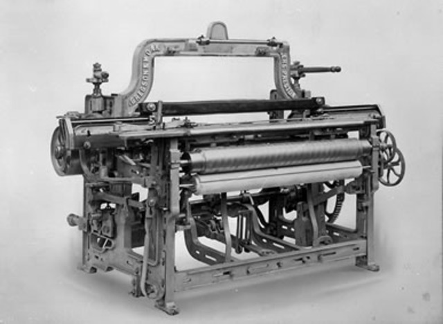 Inventions In The Texile Manufacturing Revolution Timeline