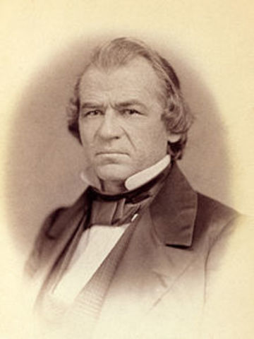 Andrew Johnson Became President