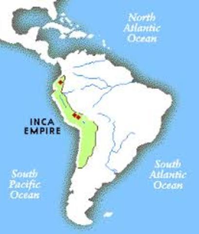 Inkariket går under