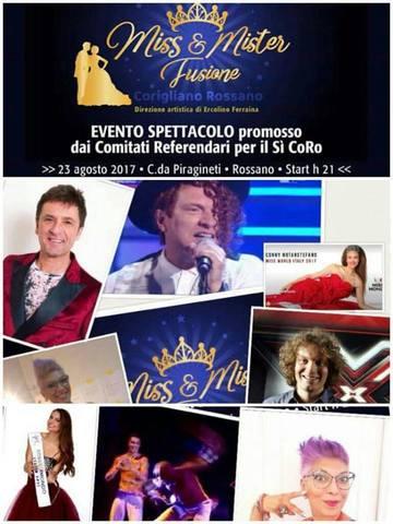 Miss & Mister Fusione Corigliano Rossano