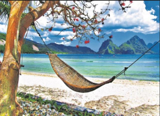 M'envaig al caribe i relaxar-me del treball de recerca.