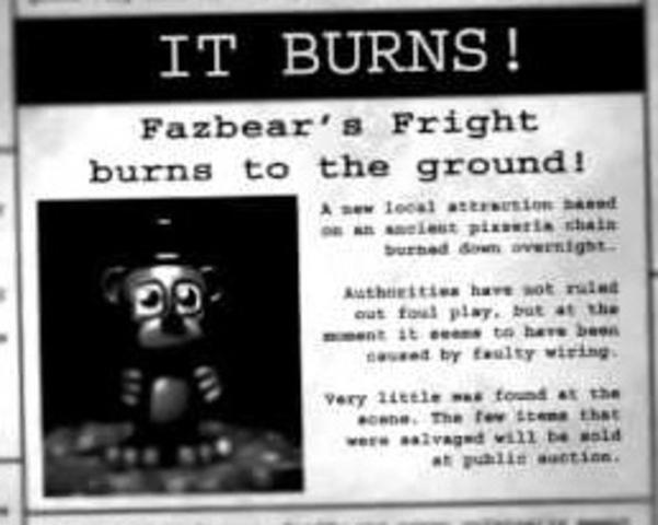 Fazbear Fright