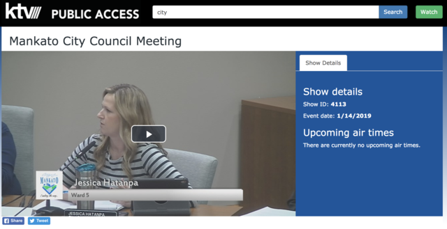 City Council meeting airs live on KTV