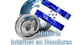 Historia del Internet en Honduras. timeline