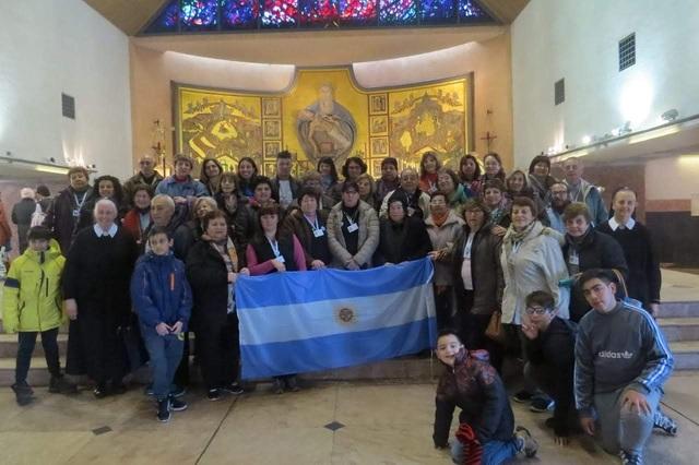AÑO DEL PADRE: Peregrinación Santuario Nacional