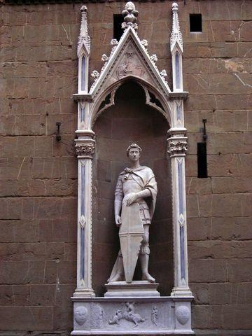 DONATELLO - San Giorgio   Orsanmichele