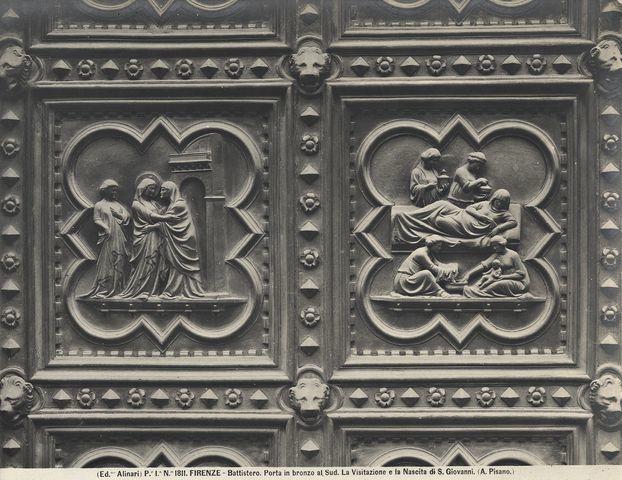 ANDREA PISANO - Porta Sud del Battistero