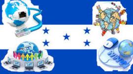 historia de como llega el Internet en Honduras timeline