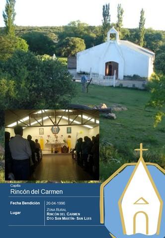 BENDICION CAPILLA RINCON DEL CARMEN