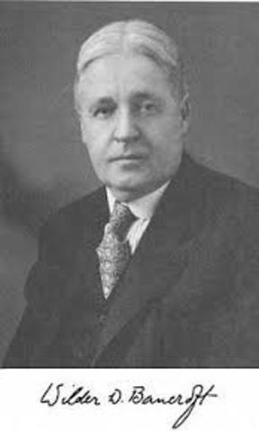Wilder Dwight Bancroft