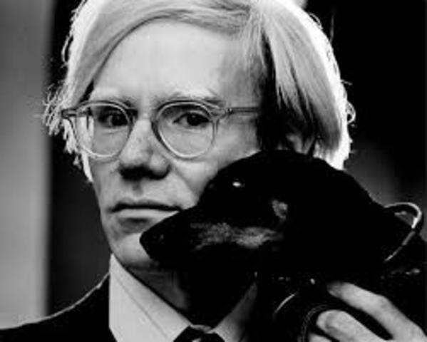 Birth of Andy Warhol