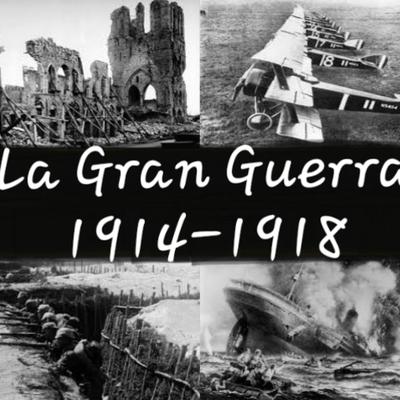 Eje Cronológico-La Gran Guerra. timeline