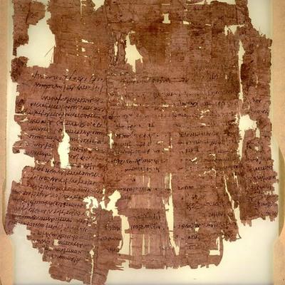 Literatura antigua timeline