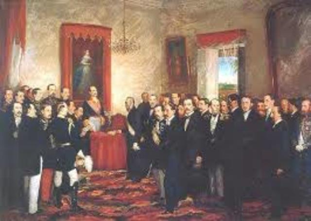 Anexión a España. (1861 - 1865)