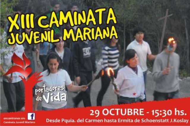 XIII CAMINATA JUVENIL MARIANA