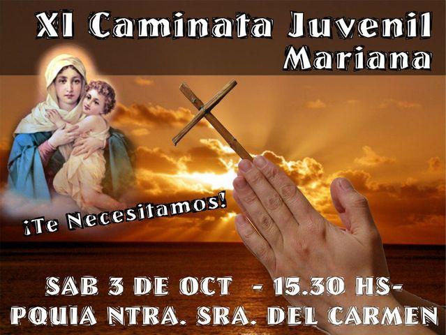 XI CAMINATA JUVENIL MARIANA