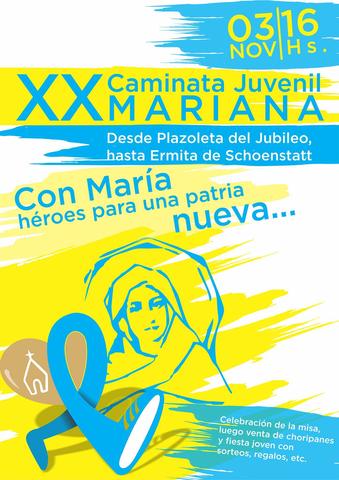 XX CAMINATA JUVENIL MARIANA