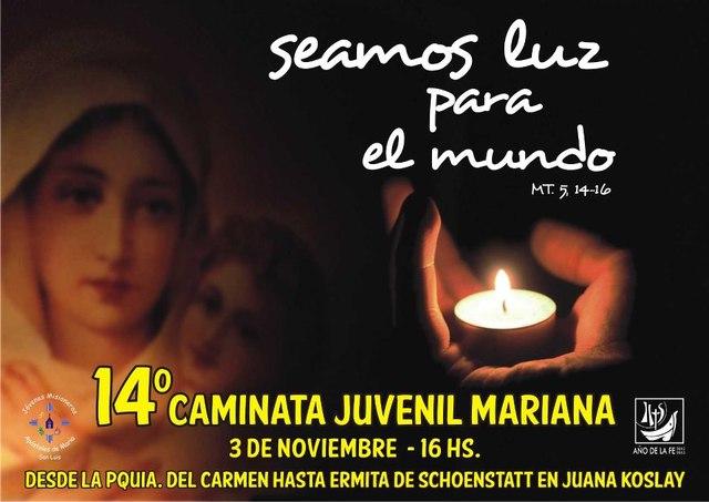XIV CAMINATA JUVENIL MARIANA