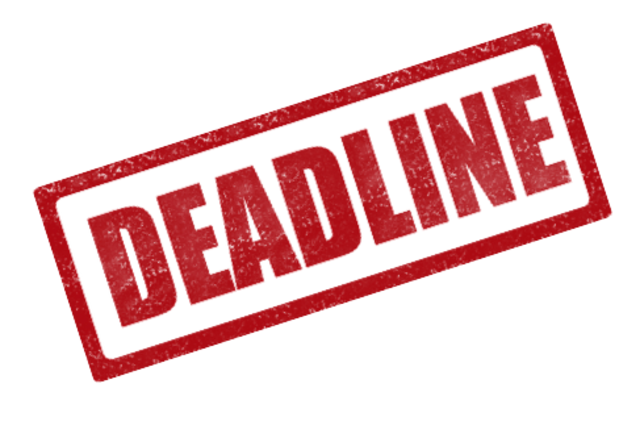 Internship Deadline