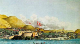 Dansk Vestindien timeline