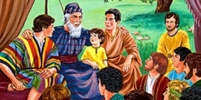 Jacob i les 12 tribus d'Israel