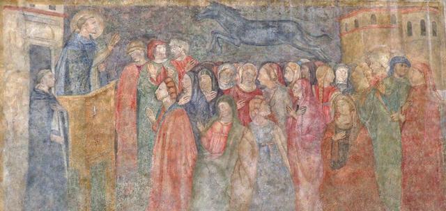 San Pietro Martire fonda la Compagnia del Bigallo