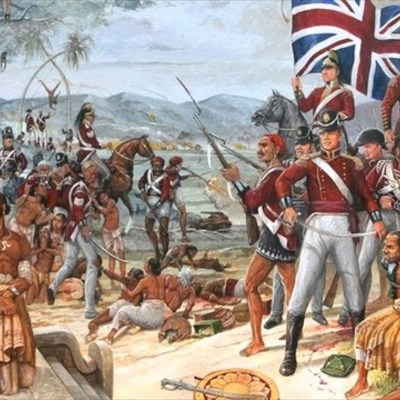 The British in India timeline